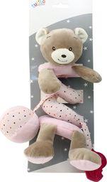 Axiom Sprężynka pluszowa New Baby Miś różowy 30 cm