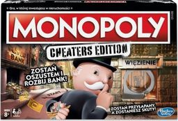 Hasbro Gra Monopoly Cheaters Edition