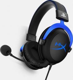Słuchawki HyperX Cloud  Niebieskie PS4 (PS4 -HX-HSCLS-BL/EM)