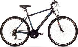 """Arkus Rower górski Safari M czarno-niebieski 19"""" uniwersalny"""