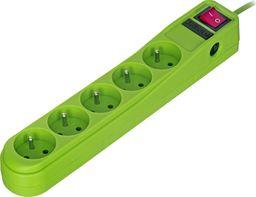 Listwa zasilająca Activejet ACP-5CL 3m ZIELONA (5 x UTE; 1,5m; kolor zielony)