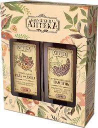 Babuszka Agafia Zestaw kosmetyczny: 350 ml szamponu + 350 ml żelu pod prysznic