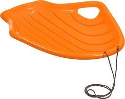 Victoria Sport Sanki plastikowe pomarańczowe