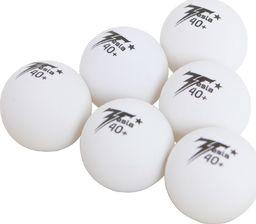 Victoria Sport Piłeczki Do Tenisa Stołowego Tesla Białe 6szt.