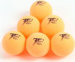 Victoria Sport Piłeczki Do Tenisa Stołowego Tesla Pomarańczowe 6szt.