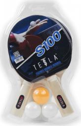 Victoria Sport Zestaw 100 do tenisa stołowego Tesla