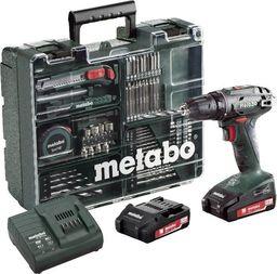 METABO Zestaw wiertarko-wkrętarka  BS 18 Li 74  + Zestaw akcesoriów (14153065)