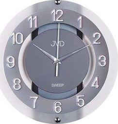JVD Zegar ścienny Szklany Cichy uniwersalny NS2534.2