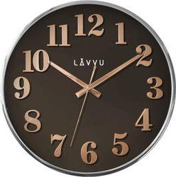 Lavvu Zegar ścienny Lavvu LCT1162 32 cm Rose Gold and Brown uniwersalny