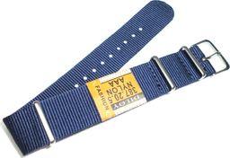 Diloy Nylonowy pasek do zegarka 20 mm Diloy 387.20.5 uniwersalny