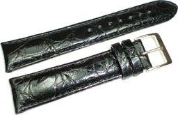 Diloy Skórzany pasek do zegarka 20 mm Diloy P332EL.20.1 Krokodyl uniwersalny