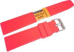Diloy Silikonowy pasek do zegarka 20 mm Diloy S250.20.6 uniwersalny