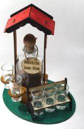 Karafka Studnia na alkohol 0,5 l z kieliszkami uniwersalny