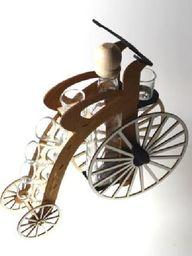 Karafka Rower na alkohol 0,5 l z kieliszkami uniwersalny