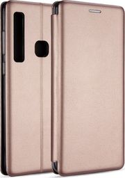 Etui Book Magnetic Samsung A600 A6 2018 różowo-złoty/rose gold
