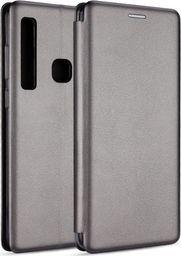 Etui Book Magnetic Samsung A750 A7 2018 stalowy/steel