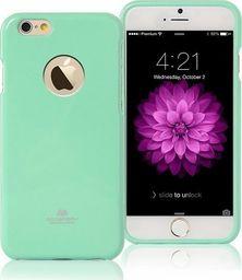 Mercury Mercury Jelly Case iPhone 7 miętowy/wyci ęcie mint/hole