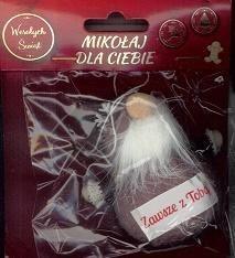 MCD Dekoracja BN - Zawsze z Tobą Mikołaj