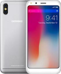 Smartfon DooGee X53 16 GB Dual SIM Srebrny