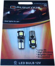Alburnus Żarówki samochodowe Led W5W/T10 5led Smd Canbus
