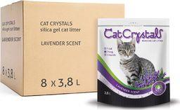 Cat Crystals Żwirek silikonowy lawendowy 8 pack 3.8l