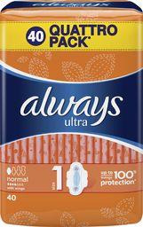 Always Podpaski Ultra Normal Plus 40 szt.