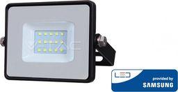 V-TAC 10W LED prožektorius V-TAC, 4000K juodas su LED SAMSUNG diodu