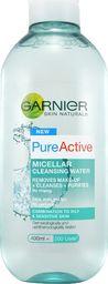 Garnier Woda micelarna do skóry mieszanej i tłustej Skin Naturals Pure Active 400 ml