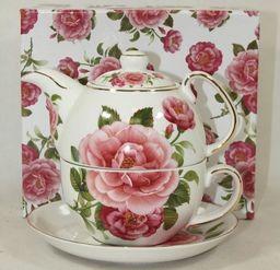 Filiżanka z czajniczkiem do herbaty Tea For One