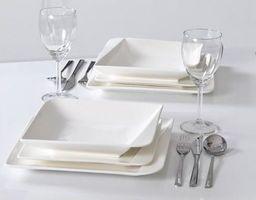 Komplet obiadowy 18 elementów Quarte Home Delux uniwersalny
