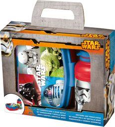 Skrzynka na przekąski dla dzieci z pojemnikiem na wodę STAR WARS