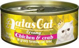 Brit Konserwa Aatas Cat Creamy Chicken & Crab 80g
