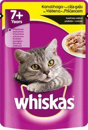 Whiskas Karma mokra z kurczakiem dla starszych kotów 100g