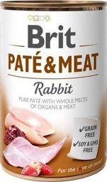 Brit Karma w puszce Pasztet z królika i mięso 400 g