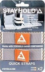 StayHold Stayhold krovinių tvirtinimo juostos Quick Straps, 2 vnt.