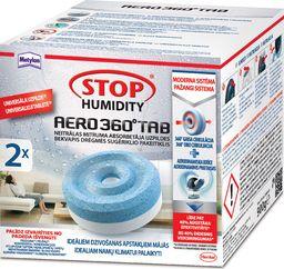 Henkel Drėgmės sugėriklio Metylan Stop Humidity AERO 360° bekvapės papildymo tabletės, 2 x 450 g.