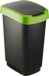 Kosz na śmieci Rotho Swing Twist do segregacji uchylny 25L zielony (TWIST 25L zalia)