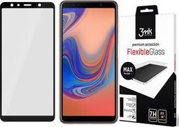 3MK Szkło 3mk Flexible Glass MAX 7H Samsung Galaxy A7 2018 black uniwersalny