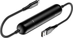 Powerbank Baseus Baseus Energy kabel 1,2m przenośny Power Bank do iPhone czarny uniwersalny