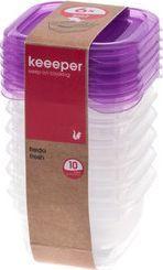 Curver Pojemnik do przechowywania i chłodzenia Keeeper Fred Food, 6 szt., 0,1 L