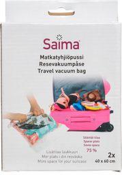 Saima Saima vakuuminis maišas rūbams 2 vnt, 40x60 cm