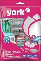 York YORK vakuuminis maišas rūbams, 100x80x32 cm