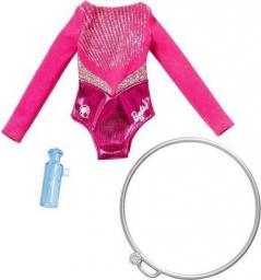 Barbie Barbie. Strój gimnastyczki + akcesoria FXH99