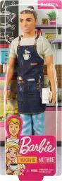 Barbie Barbie. KARIERA Ken Barista (FXP01/FXP03)