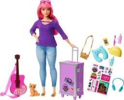 Mattel Barbie Daisy w podróży (FWV26)