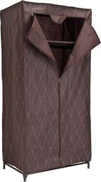 Tekstilinė drabužių spinta Vitto Gaja, ruda