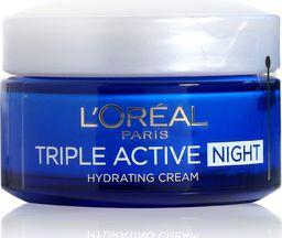 L'Oreal Paris Triple Active Night krem nawilżający na noc 50 ml