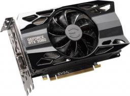 Karta graficzna EVGA GeForce RTX 2060 XC BLACK 6GB GDDR6, 192-bit (06G-P4-2061-KR)