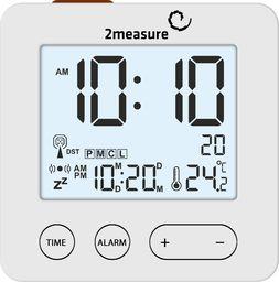 Stacja pogodowa 2measure Elektroniczna stacja pogody z budzikiem 170609
