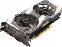 Karta graficzna KFA2 GeForce GTX 1060 OC, 6GB GDDR5X, 192-bit, DVI, HDMI, DP, bulk (60NRJ7DSV8OKB)